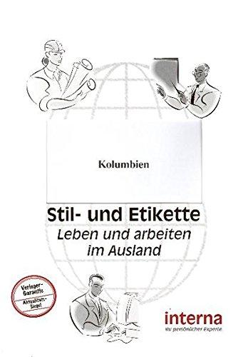 9783937887951: Stil und Etikette - Handbuch Kolumbien
