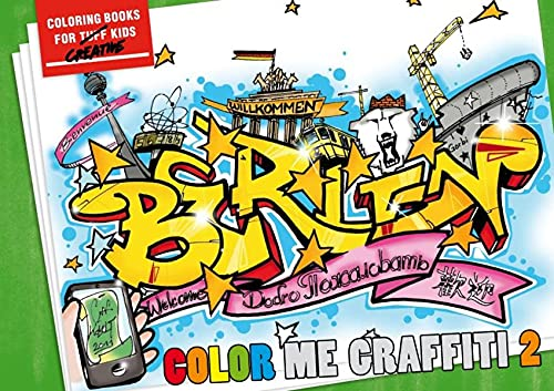9783937946306: COLOR ME GRAFFITI 2: How to Color Like the Masters