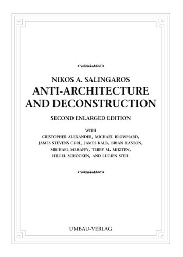 9783937954080: Anti-Architecture and Deconstruction