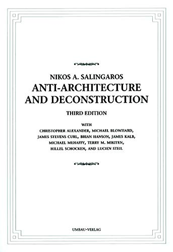 9783937954097: Anti-Architecture and Deconstruction