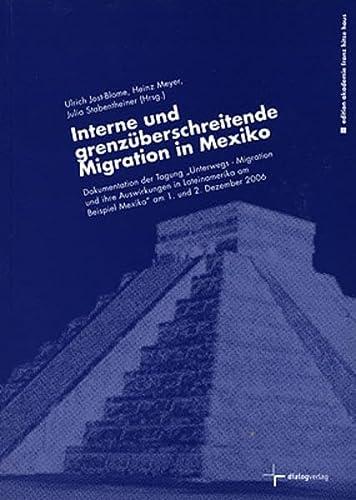 Interne und grenzüberschreitende Migration in Mexiko: Dokumentation: Raúl V LÃ