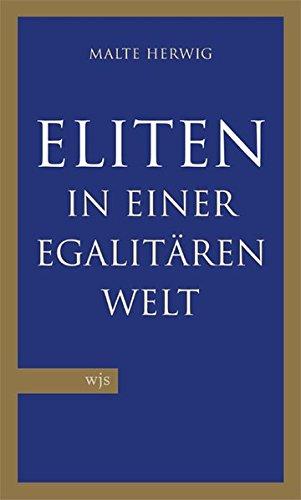 9783937989112: Eliten in einer egalit�ren Welt