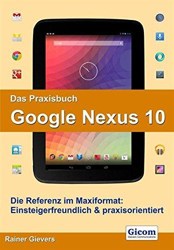 9783938036617: Das Praxisbuch Google Nexus 10