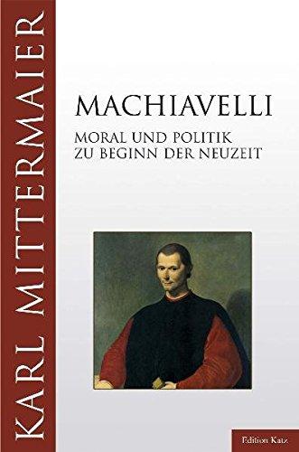 9783938047071: Machiavelli