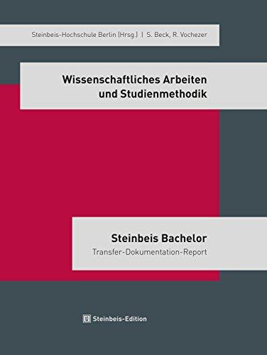 9783938062562: Wissenschaftliches Arbeiten und Studienmethodik