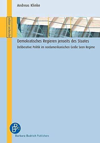 Demokratisches Regieren jenseits des Staates: Andreas Klinke