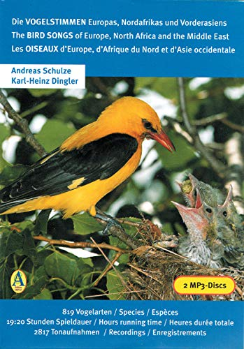 Die Vogelstimmen Europas, Nordafrikas und Vorderasiens /: Schulze, Andreas, Dingler,