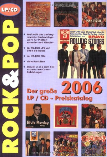 9783938155035: Rock & Pop Preiskatalog LP 2006