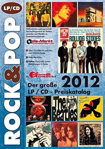 9783938155196: Der gro�e ROCK & POP LP / CD Preiskatalog 2012