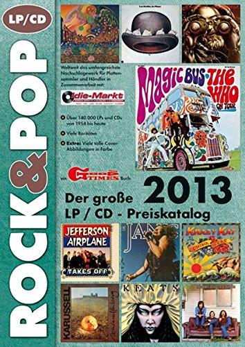9783938155219: Der große ROCK & POP LP / CD Preiskatalog 2013