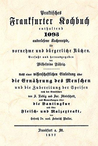 9783938173381: Praktisches Frankfurter Kochbuch