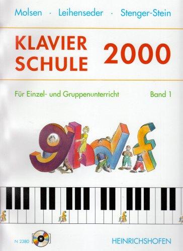 9783938202074: Klavierschule 2000, m. 2 Audio-CDs. Bd.1