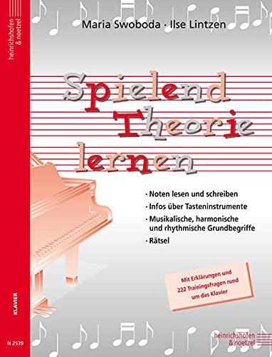 9783938202326: Spielend Theorie lernen, für Klavier
