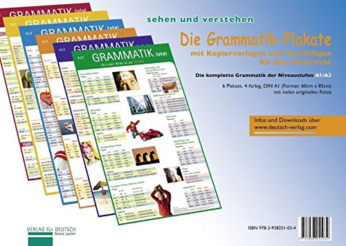 9783938251034: Die Grammatik-Plakate: Die Grammatik-Plakate - Posters (6) MIT Ubungsheft (German Edition)