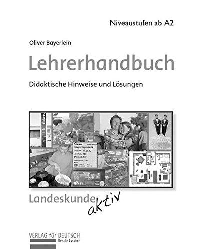 9783938251317: Landeskunde aktiv. Lehrerhandbuch