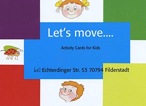 Let's move Cards für Kinder: 26 farbige Fotobildkarten incl. Booklet mit Spielanleitungen...