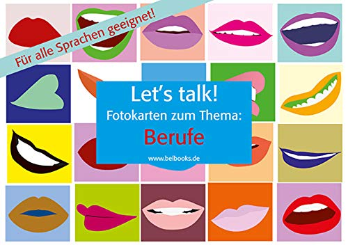 "Let's Talk! Fotokarten ""Berufe"": 25 farbige Fotobildkarten."