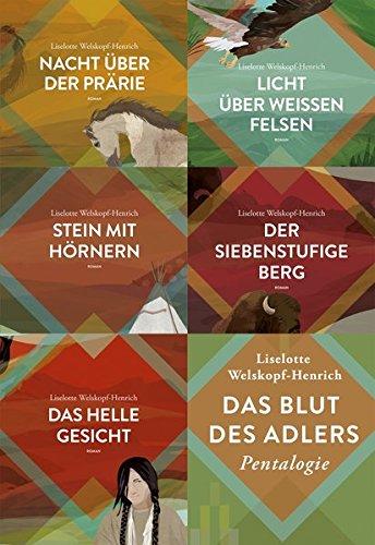 Das Blut des Adlers Band 1 bis 5: Liselotte Welskopf-Henrich