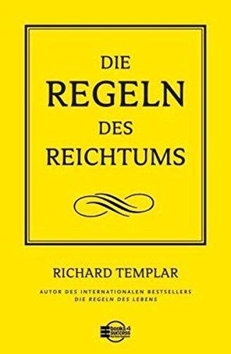 9783938350621: Die Regeln des Reichtums