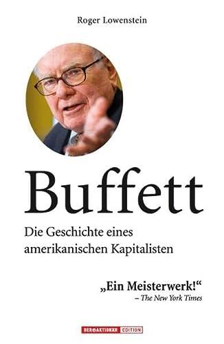 9783938350874: Buffett: Die Geschichte eines amerikanischen Kapitalisten
