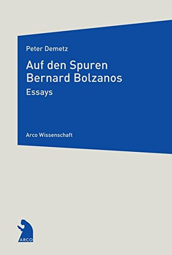 9783938375495: Auf den Spuren Bernard Bolzanos