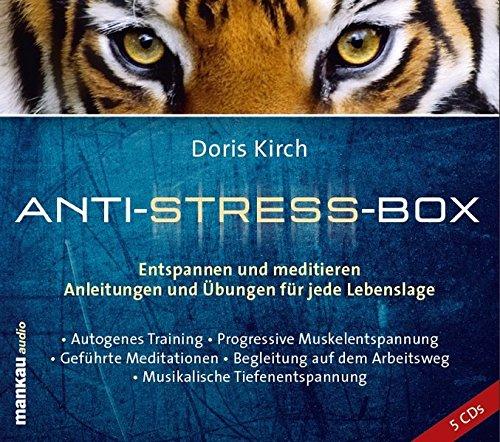9783938396407: Anti-Stress-Box. Entspannen und meditieren: Anleitungen und Übungen für jede Lebenslage