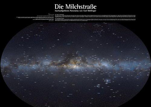 9783938469507: Die Milchstraße: Hochaufgelöstes Panorama