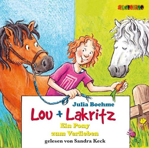 9783938482384: Lou + Lakritz. Ein Pony zum Verlieben. 2 CDs