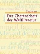 9783938484029: Der Zitatenschatz der Weltliteratur