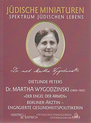 9783938485804: Martha Wygodzinski (1869-1943)