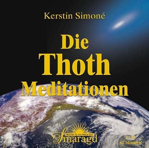 9783938489611: Die Thoth-Meditationen