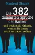9783938516775: Die 382 d�mmsten Spr�che der Banker