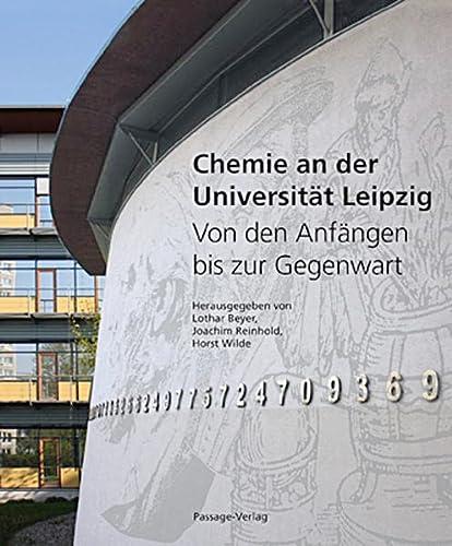 9783938543610: Chemie an der Universität Leipzig: Von den Anfängen bis zur Gegenwart