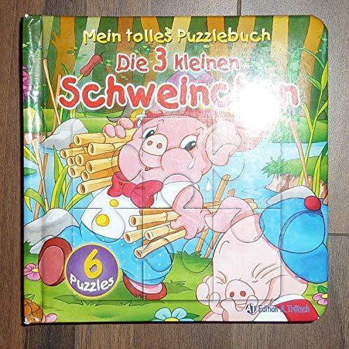9783938558041: Mein tolles Puzzlebuch - Die 3 kleinen Schweinchen