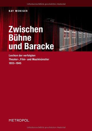 9783938690109: Zwischen B�hne und Baracke