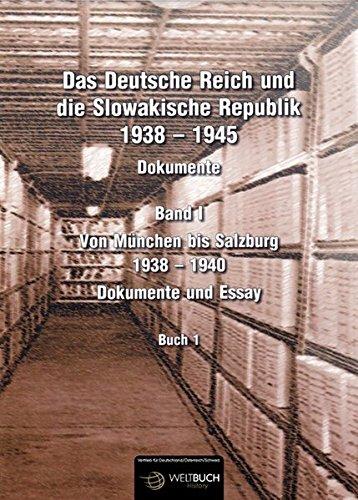 Das Deutsche Reich und die Slowakische Republik 1938 - 1945. Bd. 01: Ladislav Susko