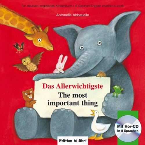 9783938735374: Das Allerwichtigste / The Most Important Thing