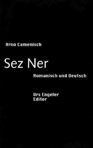 9783938767634: Sez Ner: Prosa. Deutsch/Romanisch