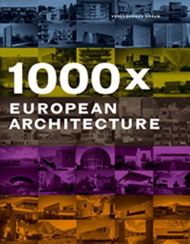 1000x European Architecture: Verlagshaus Braun,Editors of