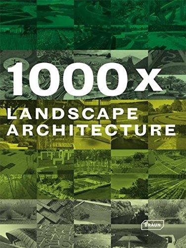 9783938780602: 1000x Landscape Architecture