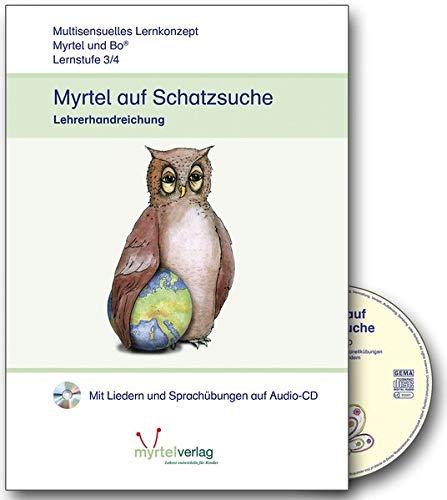 9783938782354: Myrtel und Bo Klasse 3/4, Myrtel auf Schatzsuche, Lehrerband m. Audio-CD