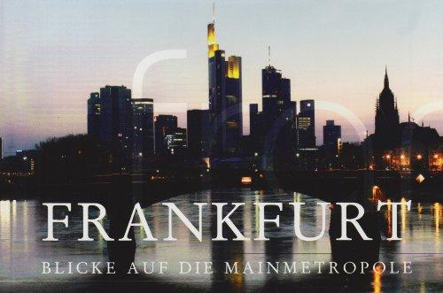 9783938783320: Frankfurt, Blicke auf die Mainmetropole, Postkartenbuch