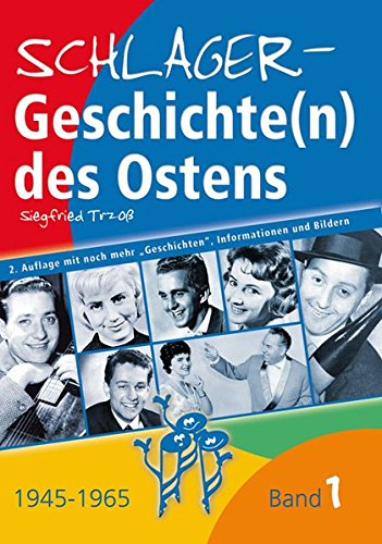 9783938810026: Schlagergeschichte(n) des Ostens: Band 1.1945 bis 1960