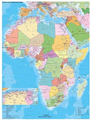 Afrika politisch mit Postleitbereichen: Heinrich Stiefel