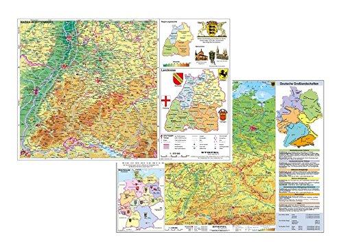 Deutschland physisch / Baden-Württemberg physisch: Stiefel Eurocart