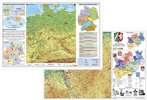 Deutschland physisch / Nordrhein-Westfalen physisch: Stiefel Eurocart