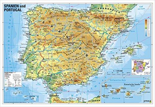 9783938842904: Spanien und Portugal physisch