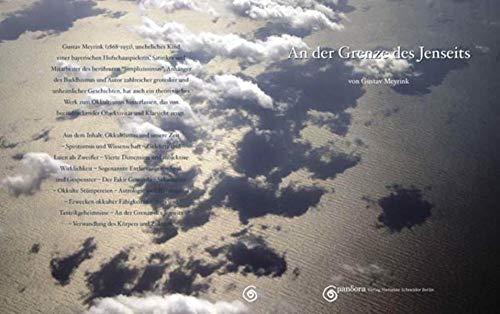 9783938878040: An der Grenze des Jenseits - Die Verwandlung des Blutes: Zwei Essays zu den Themen Okkultismus und Yoga