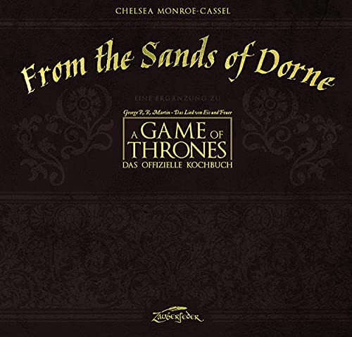 9783938922934: From the Sands of Dorne