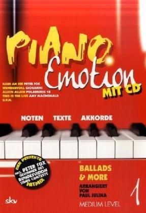 9783938993217: Piano Emotion 1